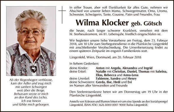 Wilma Klocker