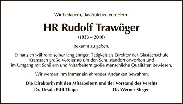 HR Rudolf Trawöger