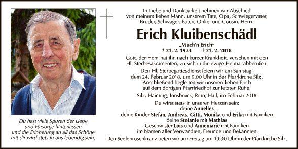 Erich Kluibenschädel