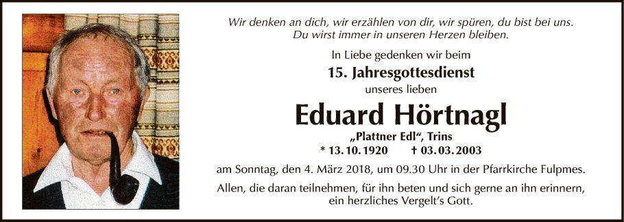 Eduard Hörtnagl