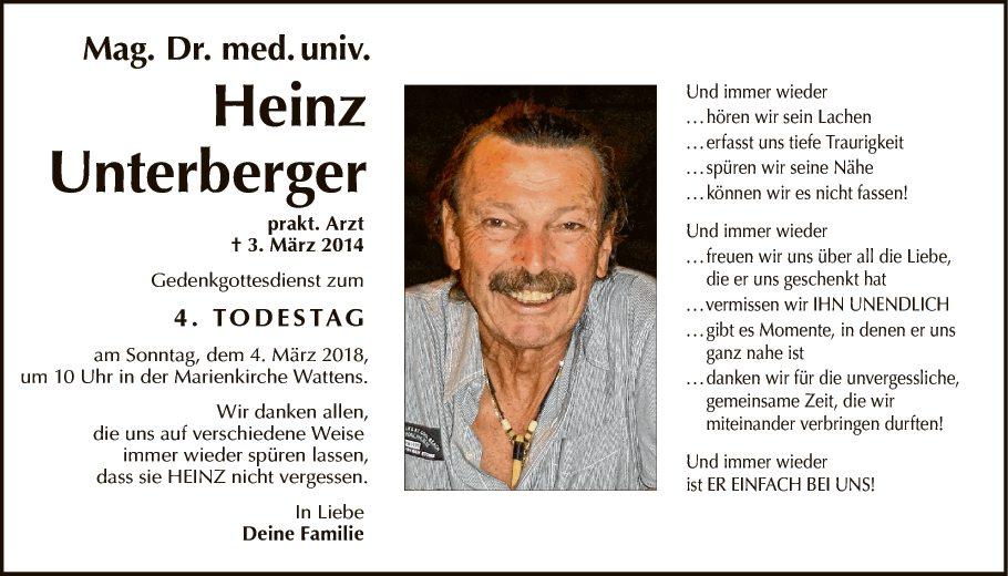 Dr. Heinz Unterberger