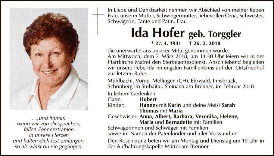 Ida Hofer