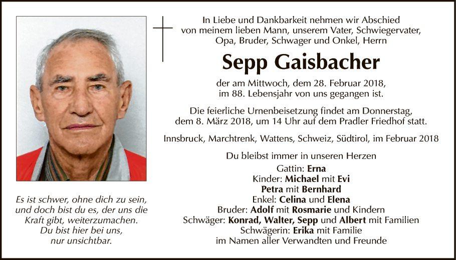 Sepp Gaisbacher