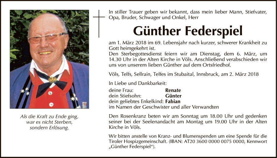 Günther Federspiel