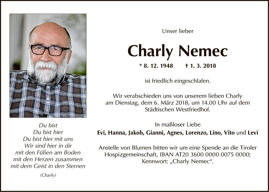 Dr. Karl Nemec