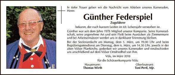 Günther Federspiel (Schützen)