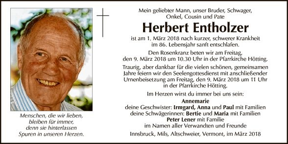 Herbert Entholzer