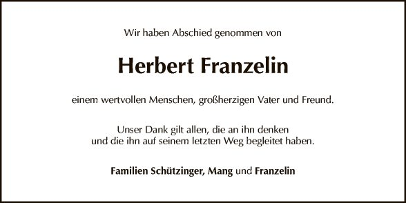 Herbert Franzelin
