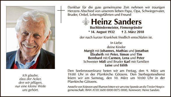 Heinz Sanders