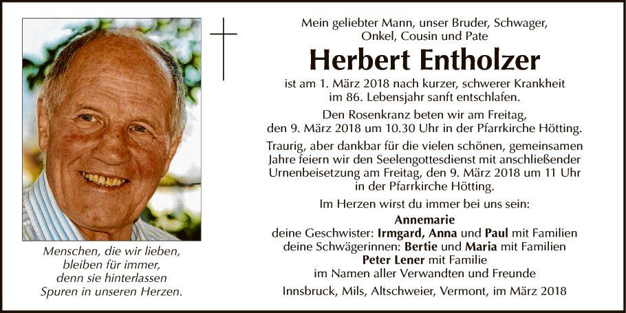Herbert Entholzer