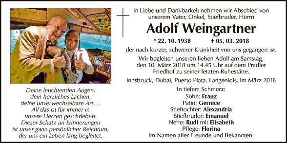 Adolf Weingartner