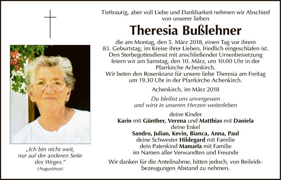 Theresia Bußlehner