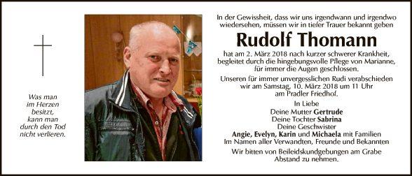 Rudolf Thomann