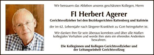 FI Herbert Agerer