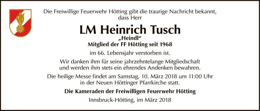 LM Heinrich Tusch