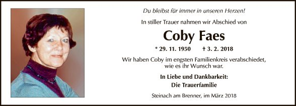 Coby Faes