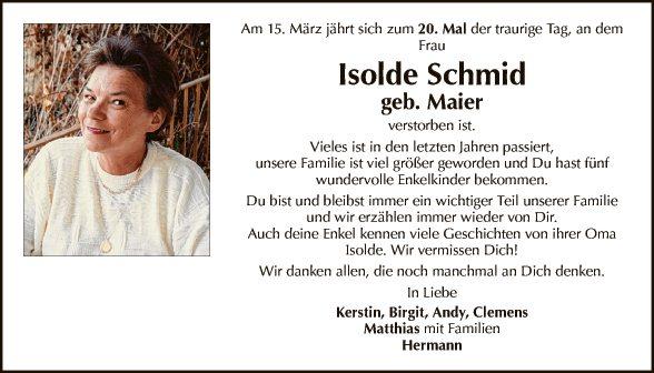 Isolde Schmid