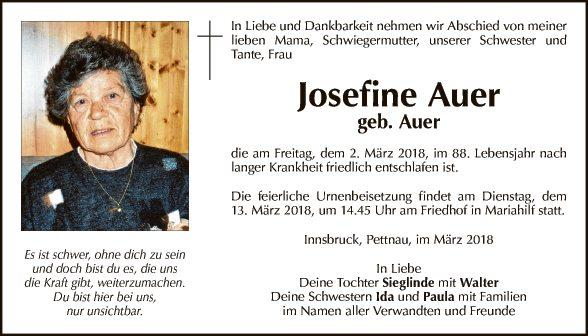 Josefine Auer