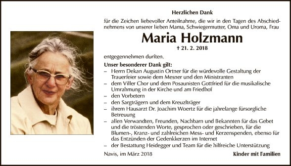 Maria Holzmann