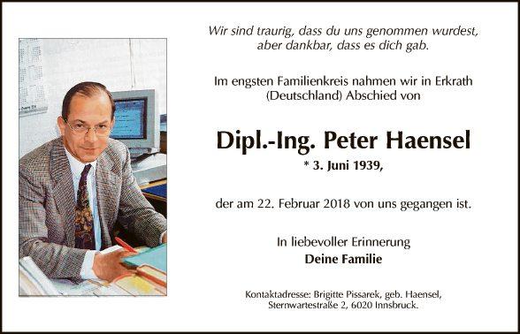 Peter Haensel
