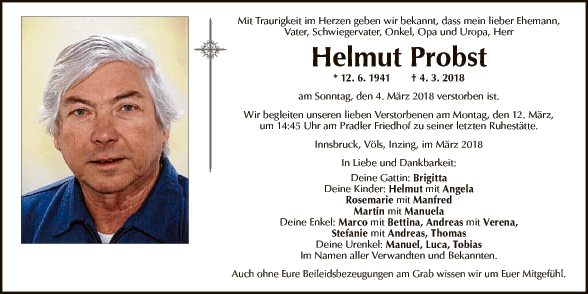 Helmut Probst