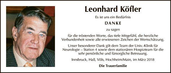 Leonhard Köfler
