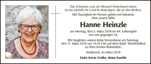 Hanne Heinzle