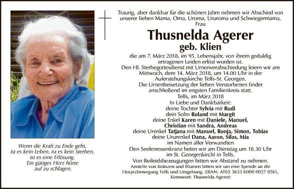 Thusnelda Agerer