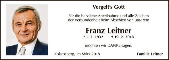 Franz Leitner