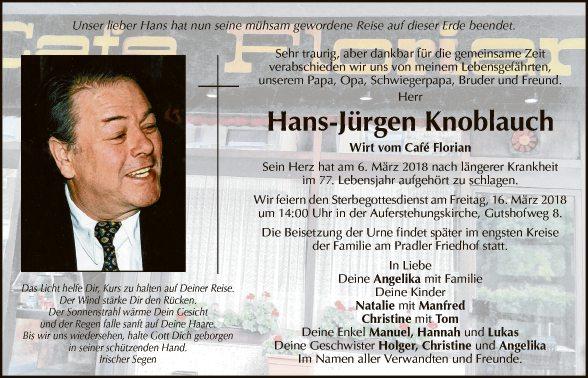 Hans-Jürgen Knoblauch