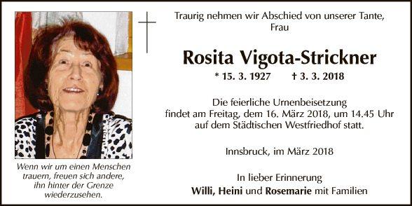 Rosita Vigota-Strickner