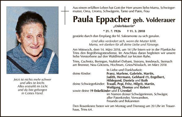 Paula Eppacher