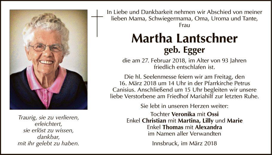 Martha Lantschner