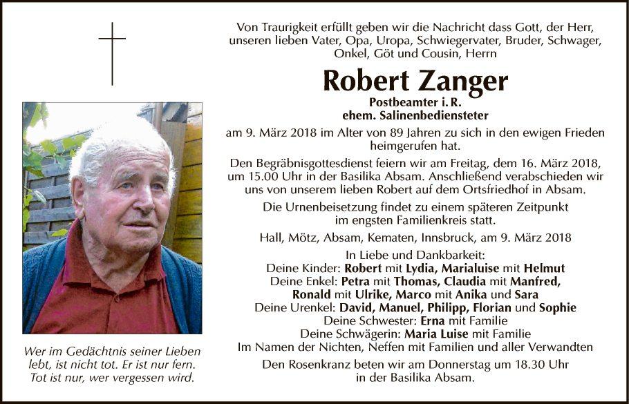 Robert Zanger