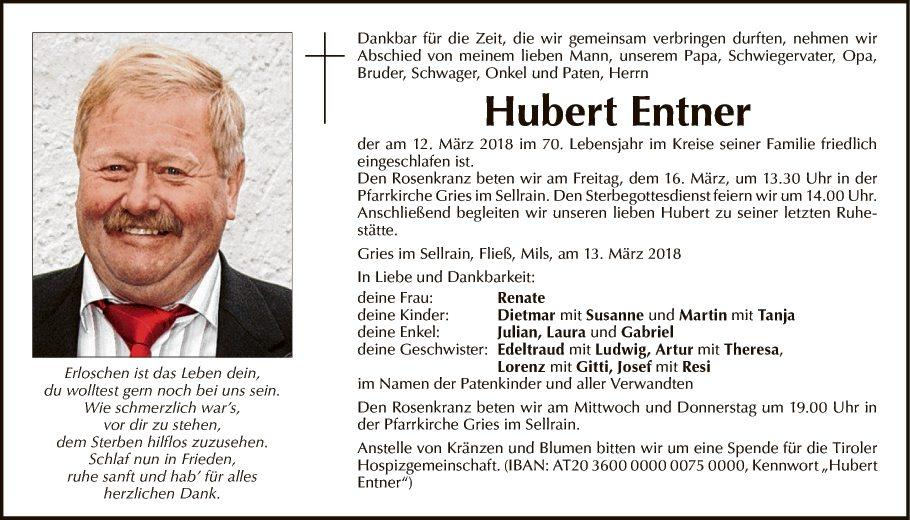 Hubert Entner