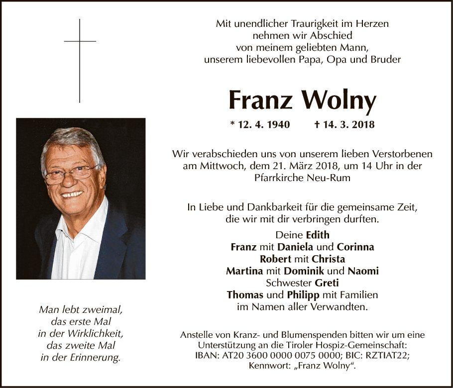 Franz Wolny