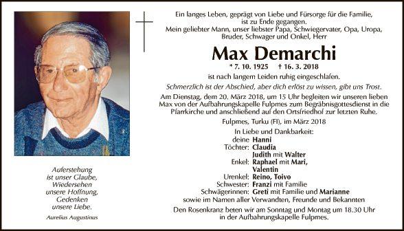 Max Demarchi