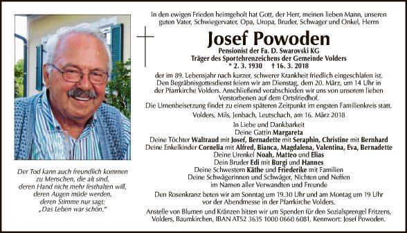 Josef Powoden