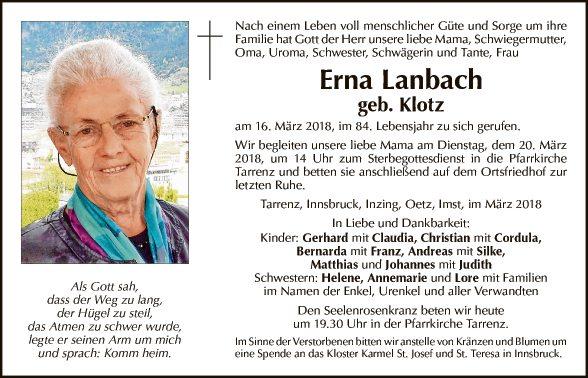 Erna Lanbach