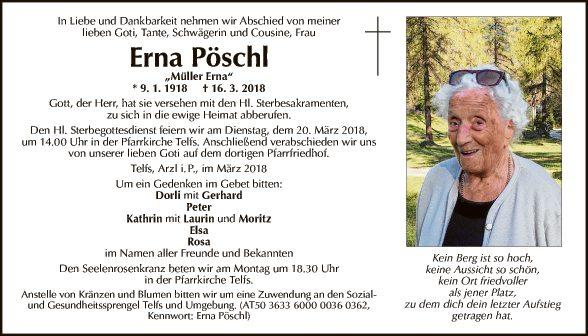 Erna Pöschl