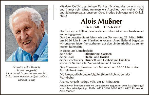 Alois Mußner