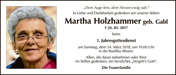 Martha Holzhammer