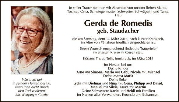 Gerda de Romedis