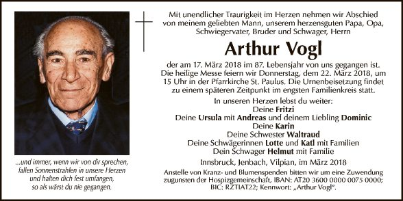 Arthur Vogl