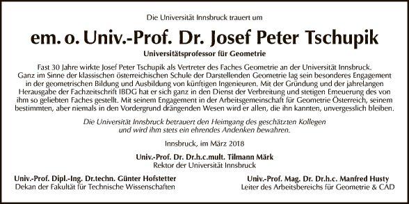 Josef Peter Tschupik