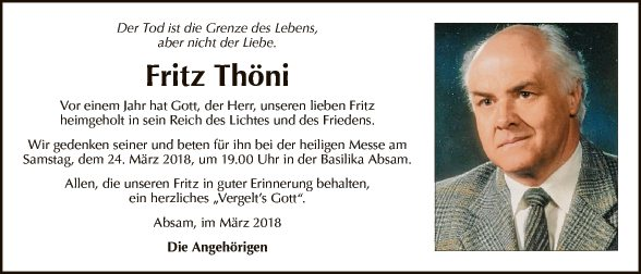 Fritz Thöni