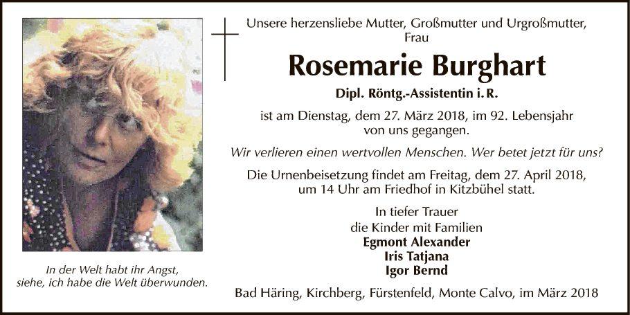 Rosemarie Burghart