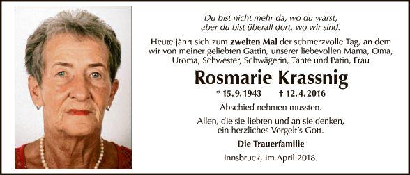 Rosmarie Krassnig
