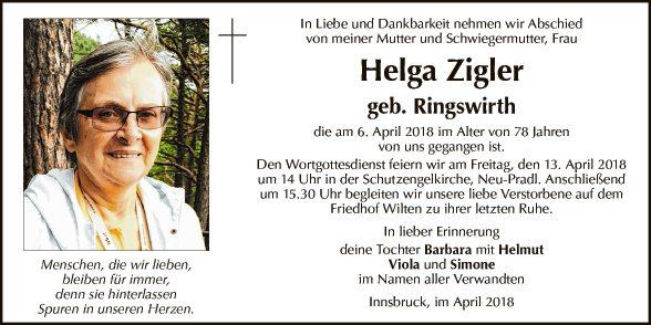 Helga Zigler