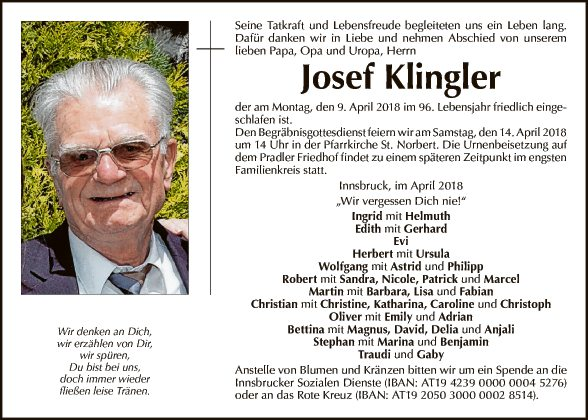 Josef Klingler